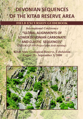 "Devonian sequences of the Kitab reserve area. Field Excursion Guidebook. International Conference ""Global Alignments of Lower Devonian Carbonate and Clastic Sequences"""