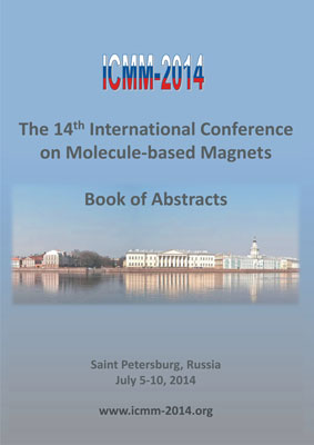 The 14th International Conference on Molecule-based Magnets. Abstracts book and program. Saint Petersburg, Russia July 5-10, 2014